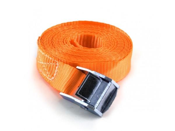 Стяжной ремень кольцевой с замком-зажимом 3 м  1,1 т