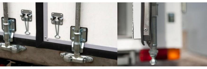 Уплотнительный профиль для ворот полуприцепов, фур, трейлеров